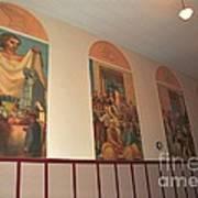 Gerald Mast Murals In Clare Michigan Art Print