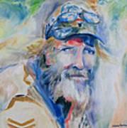 Gerard Art Print by Susan Hanlon