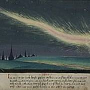 German Comet Illustration Art Print
