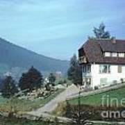 German Country Home Art Print