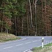 German Country Road Art Print