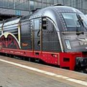 German Electric Train Munich Germany Art Print