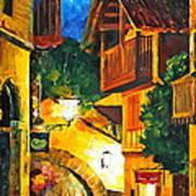 German Town Art Print
