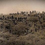 Geronimo's Band Of Warriors 1886-2012 Art Print