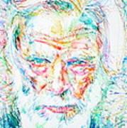 Gerry Mulligan - Portrait Art Print