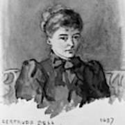 Gertrude Bell (1868-1926) Art Print