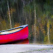 Getaway Canoe Art Print