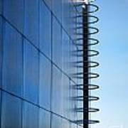 Getty Center Ladder Art Print