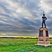 Gettysburg Battlefield Soldier Never Rests Art Print by Andres Leon