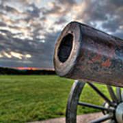 Gettysburg Canon Closeup Art Print by Andres Leon