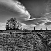 Gettysburg Sky Art Print