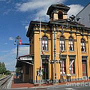 Gettysburg Train Station Art Print