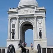 Gettysburg Union Monument Art Print