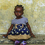 Ghanaian Child Art Print