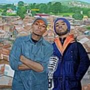 Ghetto Voice Art Print