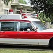 Ghost Buster Style Ambulance Art Print