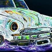Ghost Car Art Print