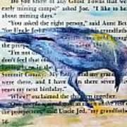 Ghost Crow Art Print
