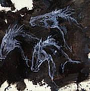 Ghost Horses Art Print