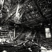 Ghost House Hd Art Print