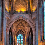 Ghost In The Cathedral Art Print by Adrian Evans