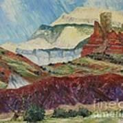 Ghost Mountain Art Print