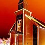 Ghost Town Church Art Print