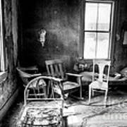 Ghost Town Still Life I Art Print by George Oze