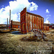 Ghost Towns In The Southwest Art Print