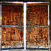 Ghostly Doors By Diana Sainz Art Print