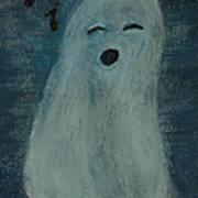Ghostly Serenade Art Print