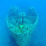 Ghostly Ship Wreck Art Print