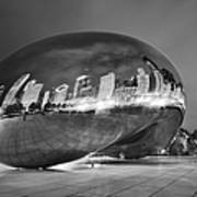 Ghosts In The Bean Art Print