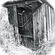 Ghosts Of The Outhouse Rocky Mountains Art Print