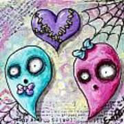 Ghoulfriends Art Print