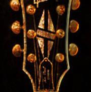 Les Paul - Gibson Headstock Art Print