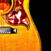 Gibson Hummingbird Art Print