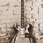 Gibson In Sepia Art Print