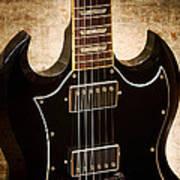 Gibson Sg Standard Brick Art Print