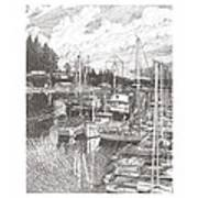 Gig Harbor Entrance Art Print