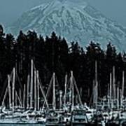 Gig Harbor  Washington  Art Print