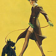 Gil Elvgren's Pin-up Girl Art Print