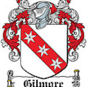 Gilmore Coat Of Arms Irish Art Print
