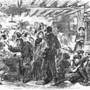 Gin Mill: London, 1861 Art Print