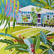 Ginger Cottage Art Print