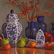 Ginger Jars Art Print