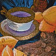 Ginger Lemon Tea 2 By Jrr Art Print