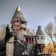 Gingerbread Castle Art Print