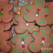 Gingerbread Cookies Art Print