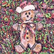 Gingerbread Fantastico Art Print